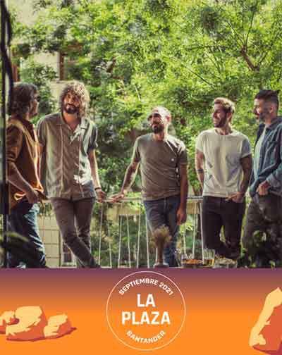 Concierto de Izal en Santander - Festival La Plaza Santander 2021