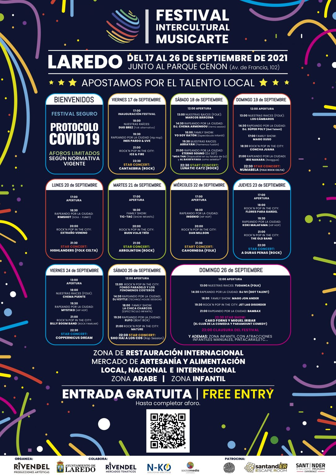 Festival Intercultural Musicarte - Laredo