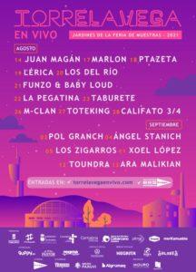 Festival Torrelavega en Vivo 2021. Programa, horarios, entradas