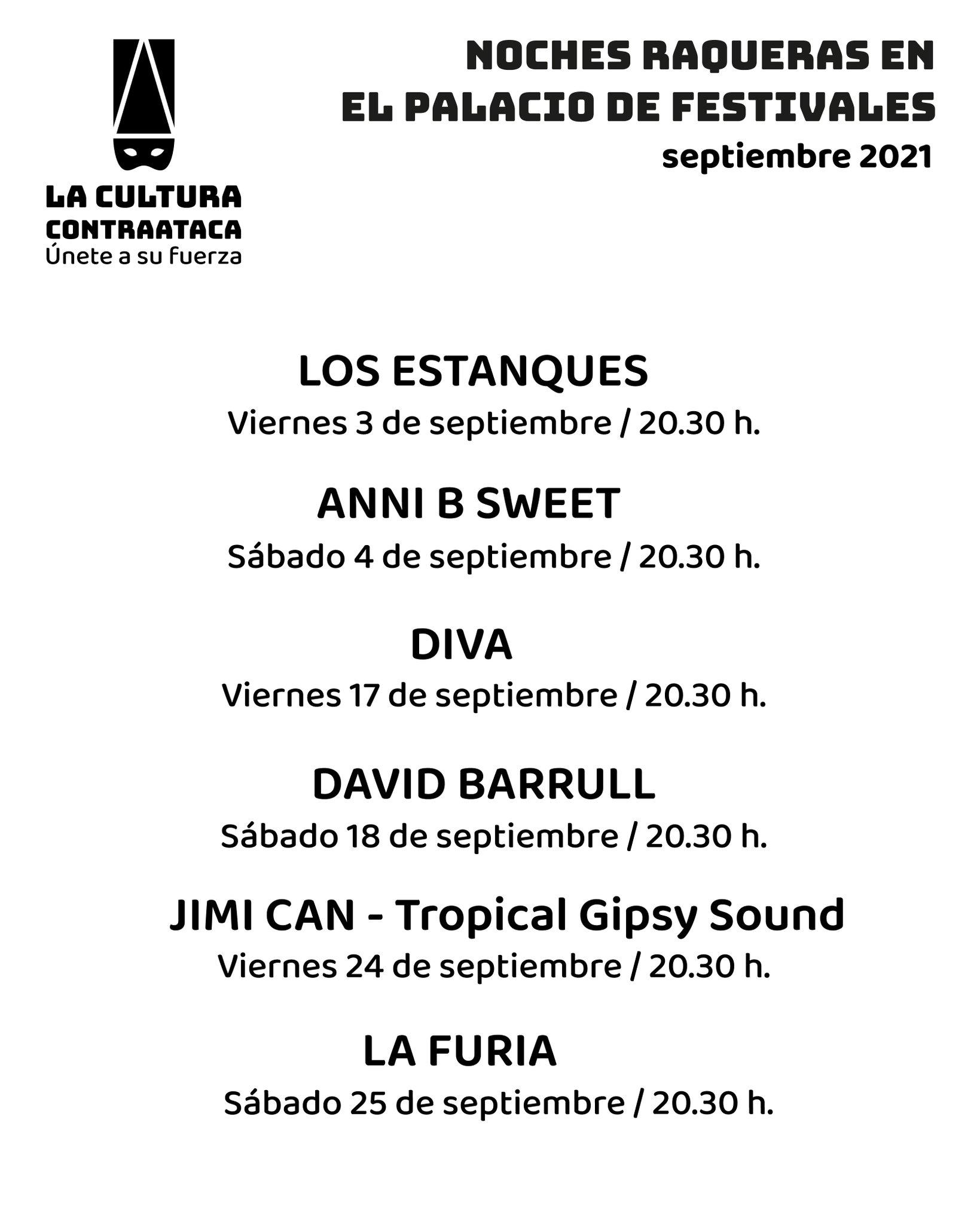 II edición de las Noches Raqueras en el Palacio de Festivales
