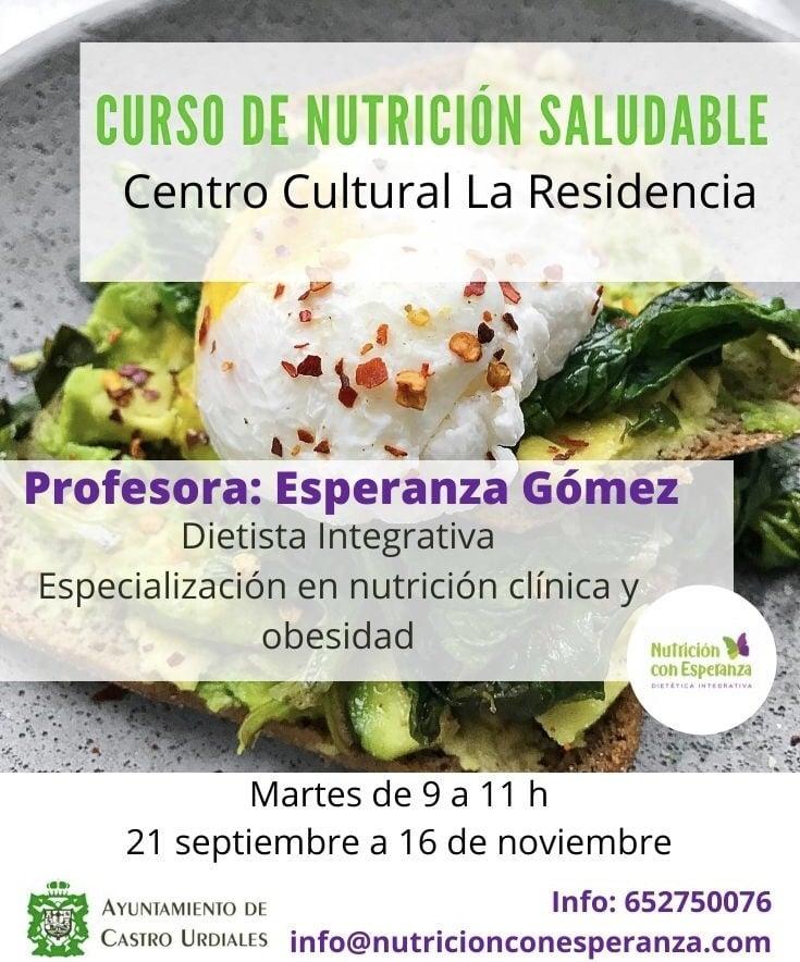 Curso de Nutrición Saludable
