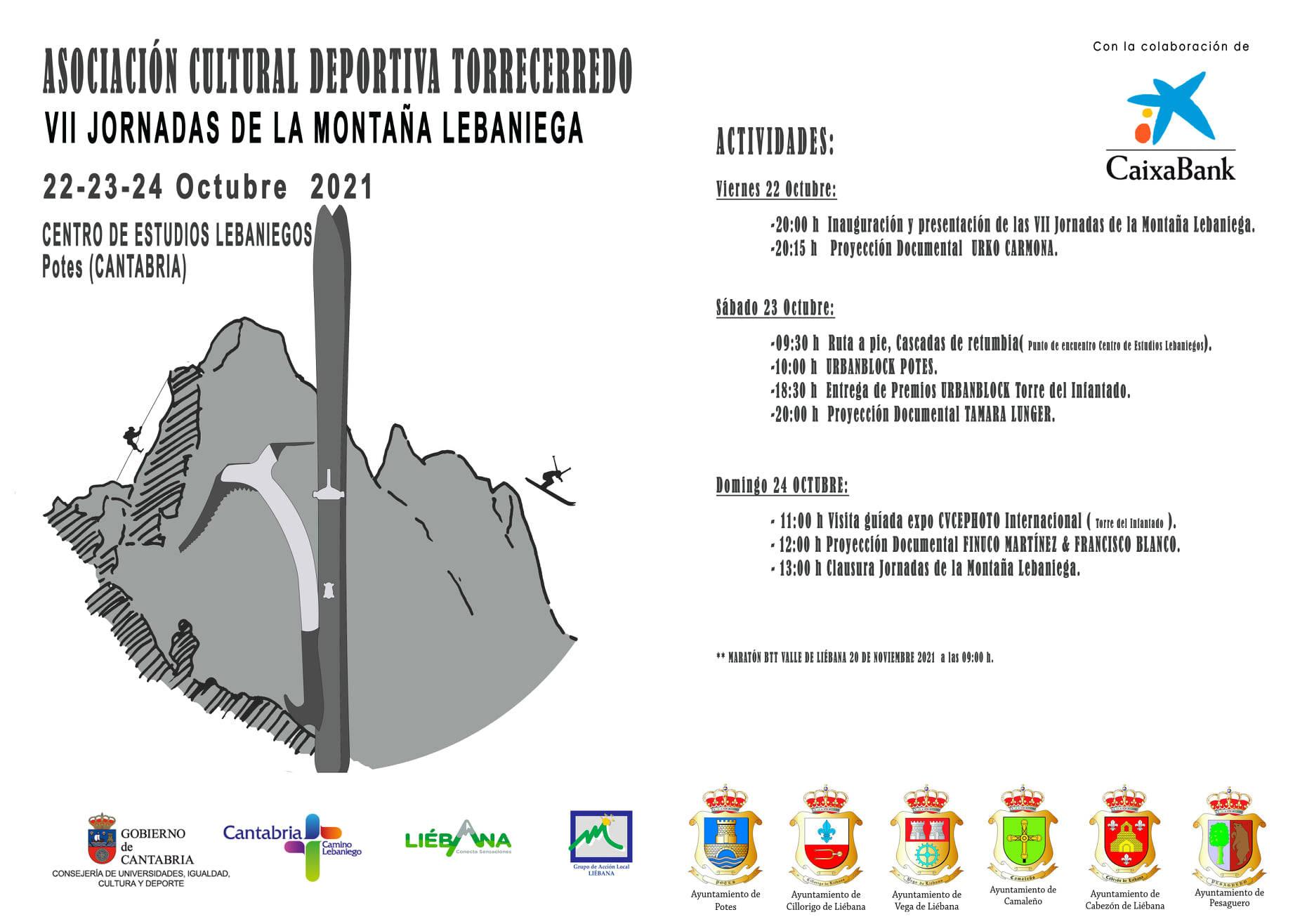 VII Jornadas de la Montaña Lebaniega 2021