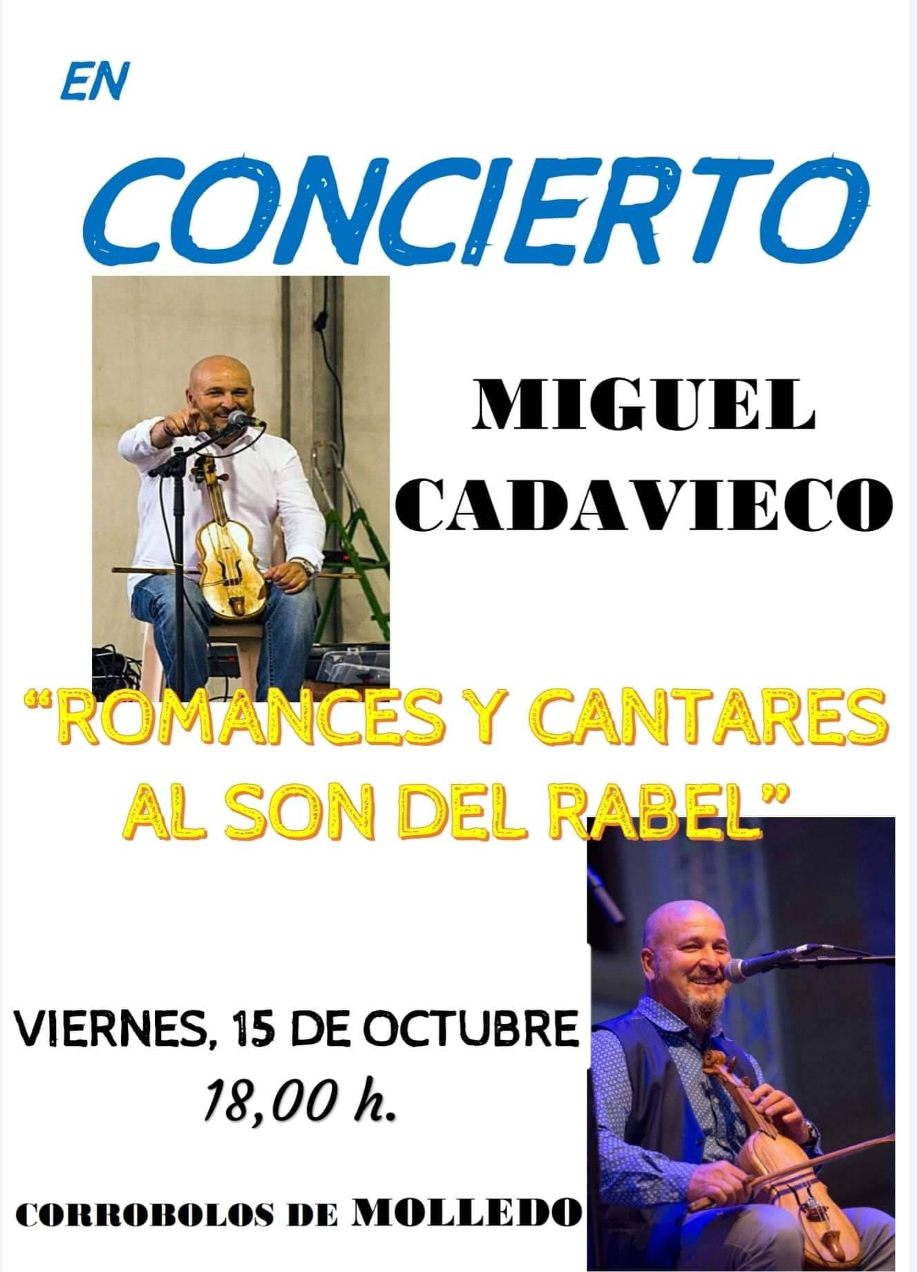 Concierto Miguel Cadavieco