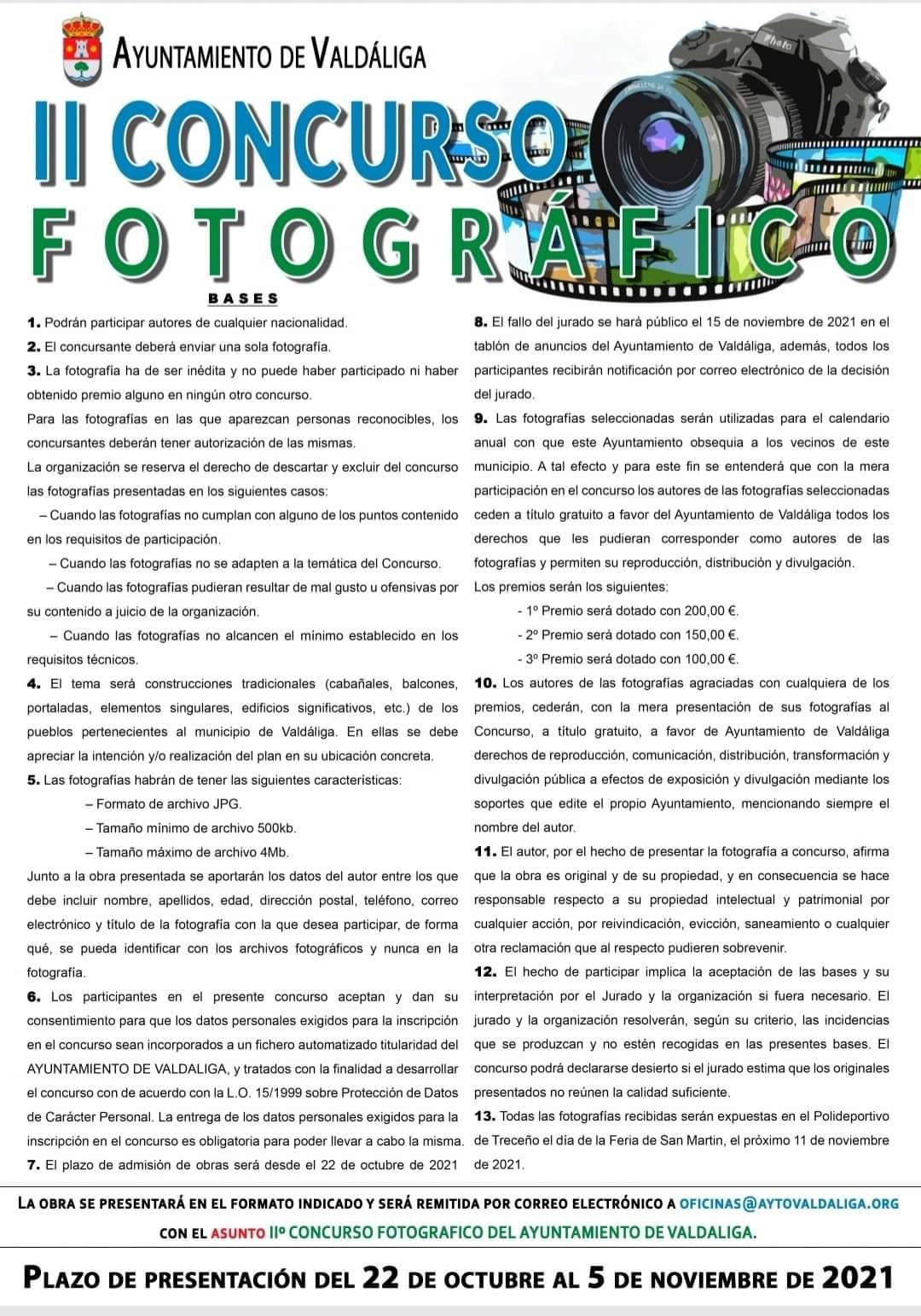 II Concurso fotográfico - Ayuntamiento de Valdáliga