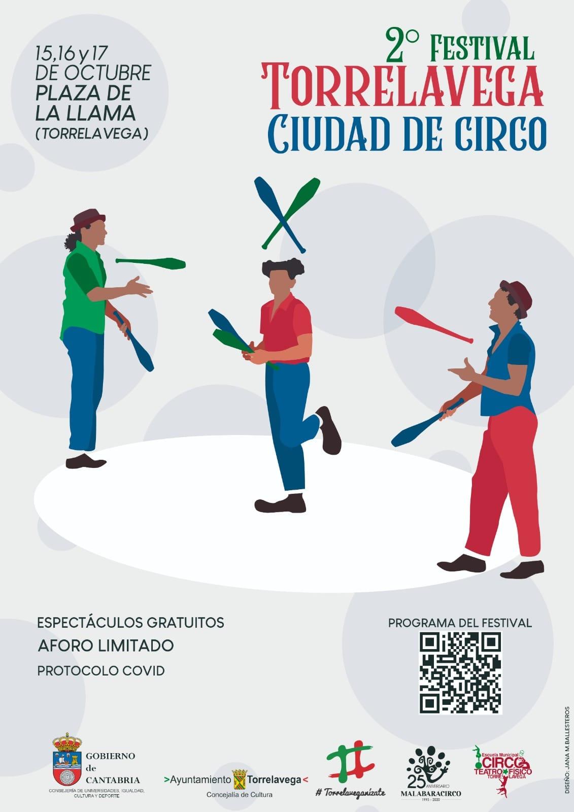 2a Edición del Festival Torrelavega Ciudad de Circo