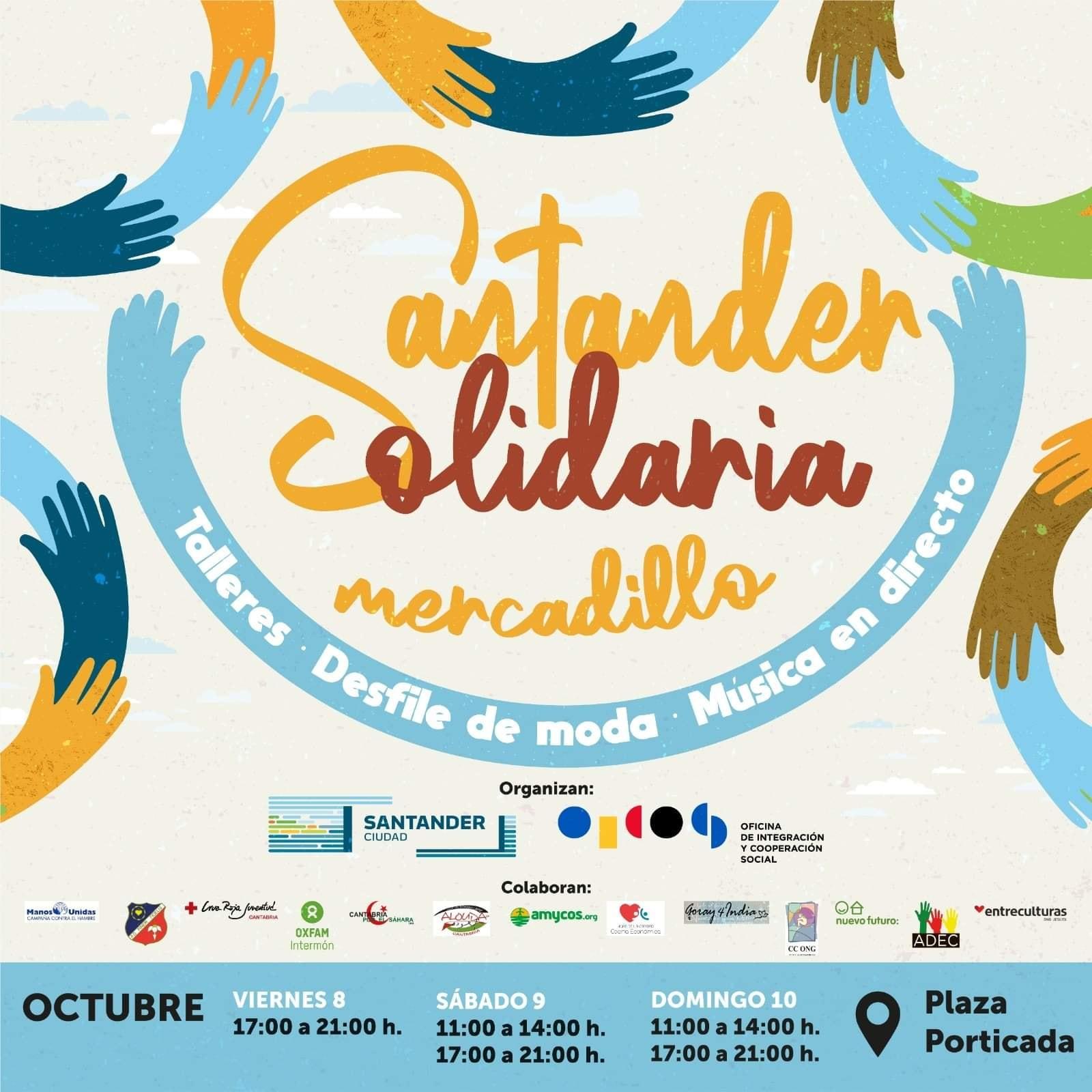 Santander Solidario Mercadillo